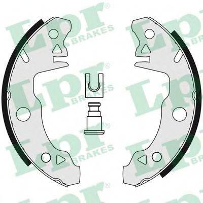 Комплект тормозных колодок LPR 00510