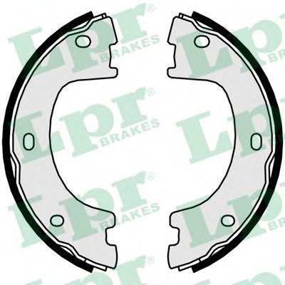 Комплект тормозных колодок, стояночная тормозная система LPR 01056