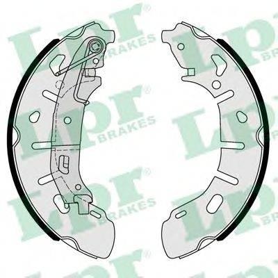 Комплект тормозных колодок LPR 01101