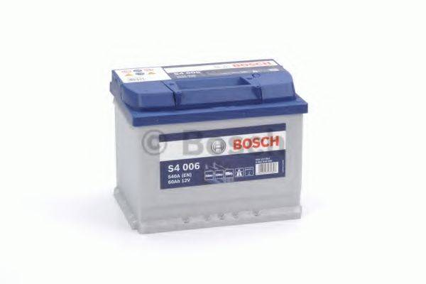Стартерная аккумуляторная батарея; Стартерная аккумуляторная батарея BOSCH 0 092 S40 060