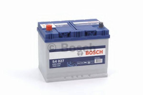 Стартерная аккумуляторная батарея; Стартерная аккумуляторная батарея BOSCH 0 092 S40 270