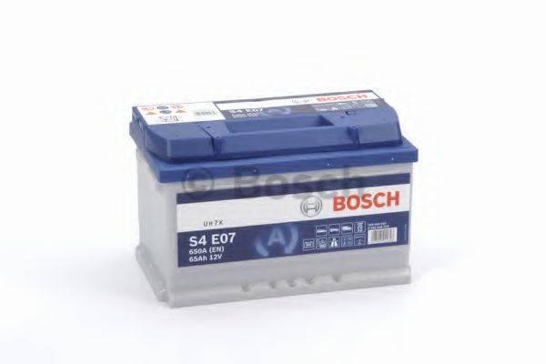 Стартерная аккумуляторная батарея; Стартерная аккумуляторная батарея BOSCH 0 092 S4E 070