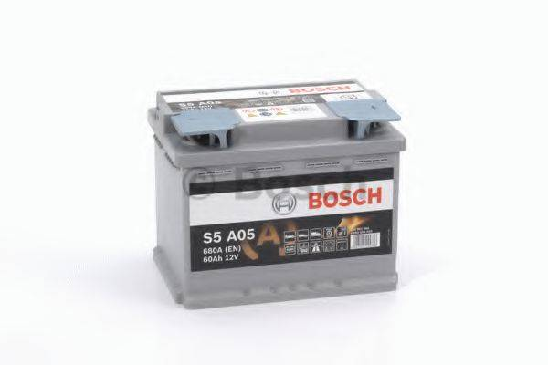 Стартерная аккумуляторная батарея; Стартерная аккумуляторная батарея BOSCH 0 092 S5A 050