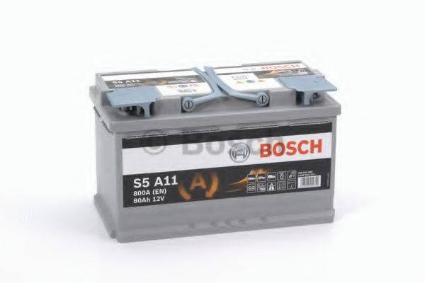 Стартерная аккумуляторная батарея; Стартерная аккумуляторная батарея BOSCH 0 092 S5A 110