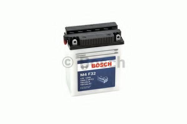 Стартерная аккумуляторная батарея; Стартерная аккумуляторная батарея BOSCH 0 092 M4F 320