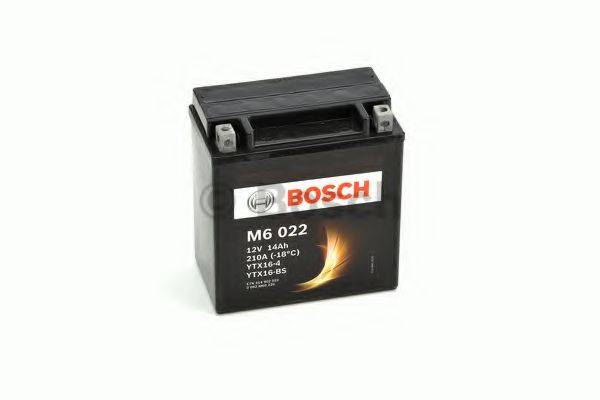 Стартерная аккумуляторная батарея; Стартерная аккумуляторная батарея BOSCH 0 092 M60 220