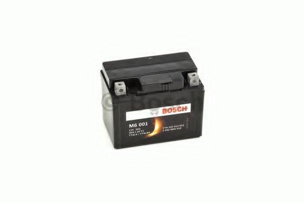 Стартерная аккумуляторная батарея; Стартерная аккумуляторная батарея BOSCH 0 092 M60 010