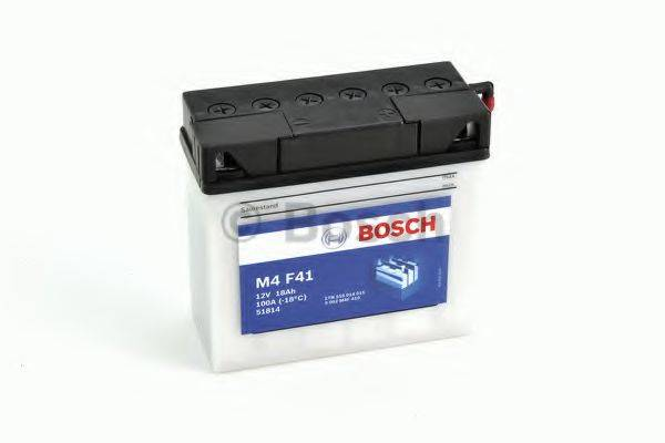 Стартерная аккумуляторная батарея; Стартерная аккумуляторная батарея BOSCH 0 092 M4F 410