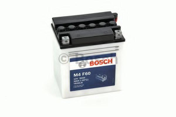 Стартерная аккумуляторная батарея; Стартерная аккумуляторная батарея BOSCH 0 092 M4F 600