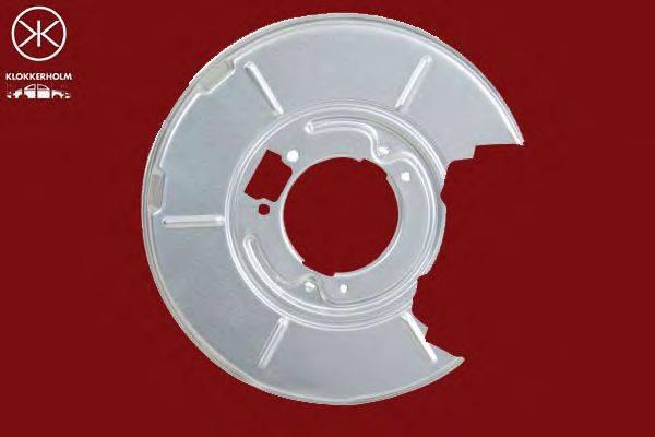Отражатель, диск тормозного механизма KLOKKERHOLM 0060878