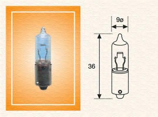 Лампа накаливания, фонарь указателя поворота; Лампа накаливания MAGNETI MARELLI 002051200000