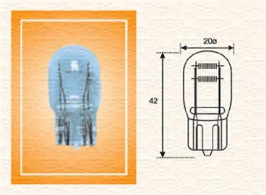 Лампа накаливания, задний гарабитный огонь; Лампа накаливания, освещение щитка приборов; Лампа накаливания MAGNETI MARELLI 002052400000